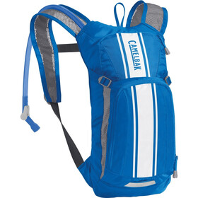 CamelBak Mini M.U.L.E. Hydration Pack 1,5l Kinder lapis blue / white stripe